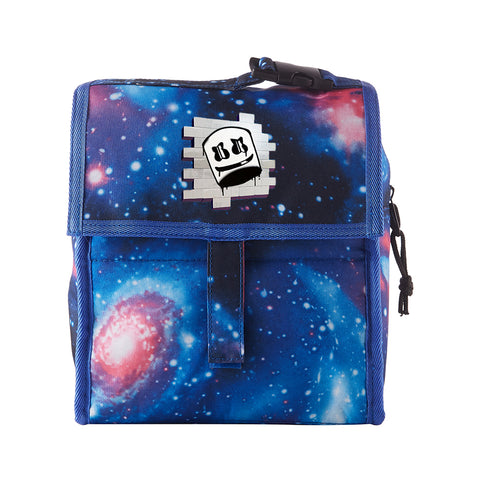 DJ Marshmello Graphic Freezable Lunch Bag Box with Zip Closure