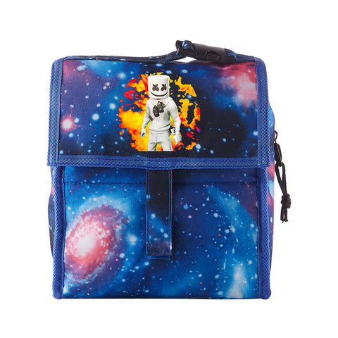 DJ Marshmello Freezable Lunch Bag with Zip Closure