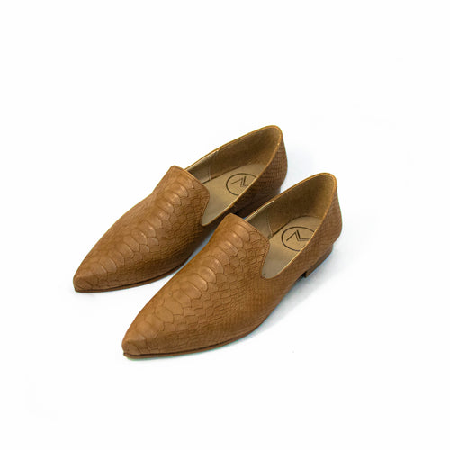 Loafer Abiú -  Camel