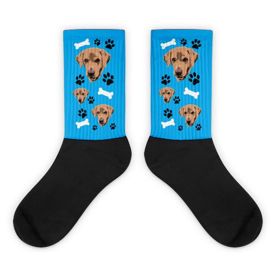sublimation printed custom socks
