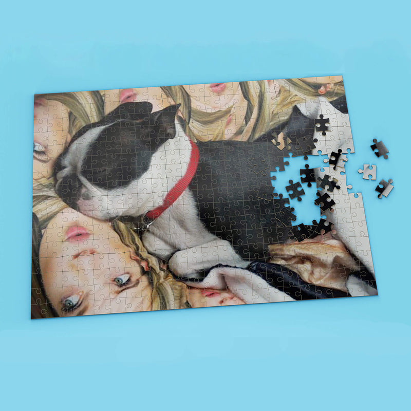 Personalized 1000 Piece Jigsaw Puzzle (4643606495289)