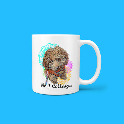 Personalizable - No.1 Colleague Pet Mug