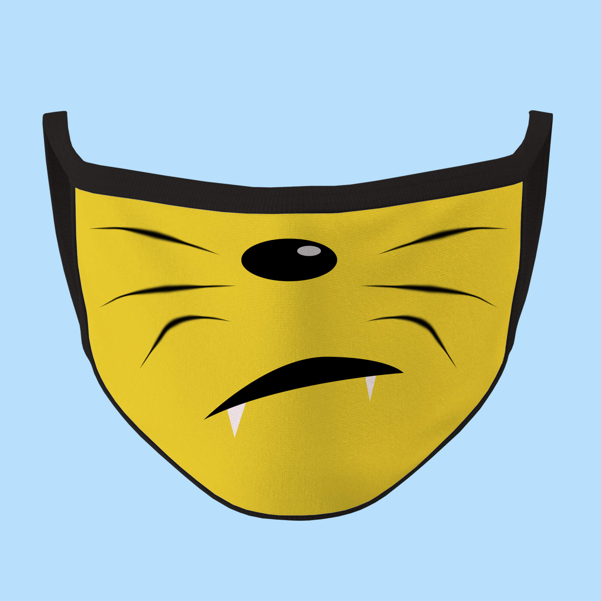 Kitty Emoji Face Mask (5390861009052)