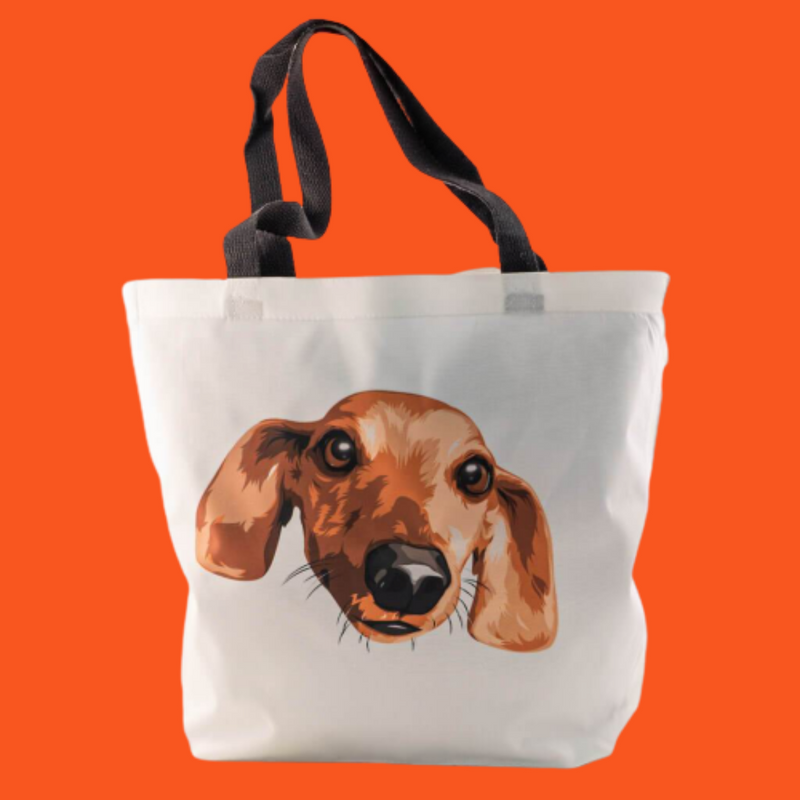 Customized Pet Tote Bag (1535741460537)
