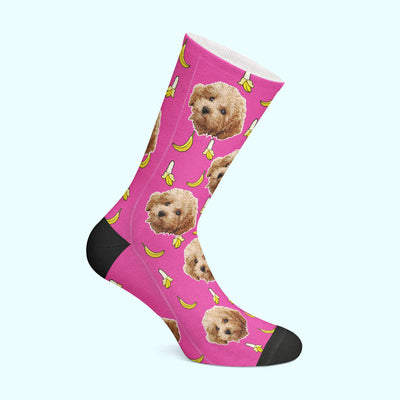 Customizable - Banana Pet Socks
