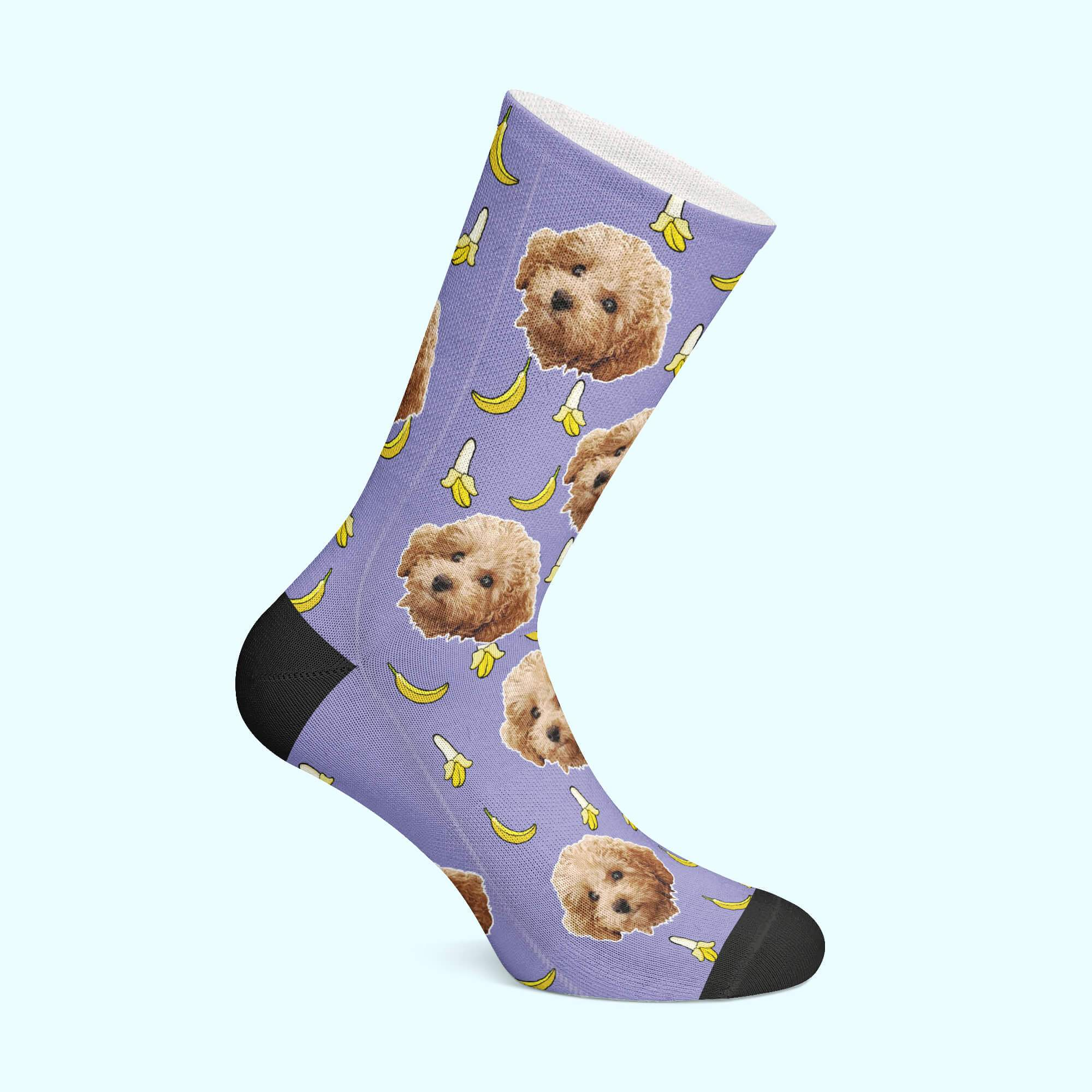 Personalizable - Banana Pet Socks