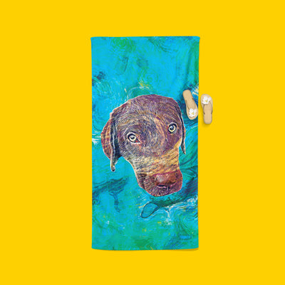 Customizable - Van Gogh Beach Towel