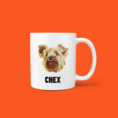 Personalized Pet Mug - Pet Face (5375636045980)