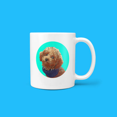 Personalized Pet Mug - Circle