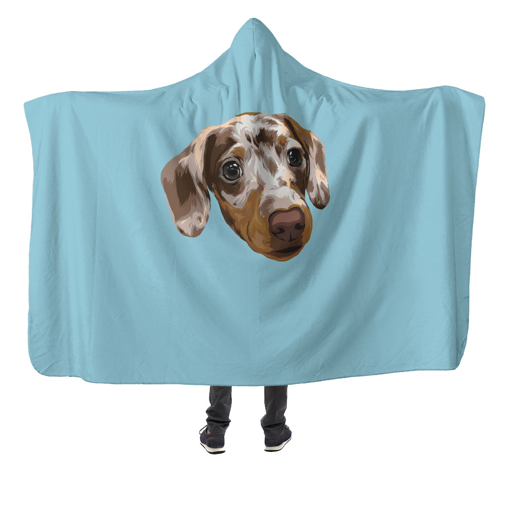 Customizable Hooded Blanket