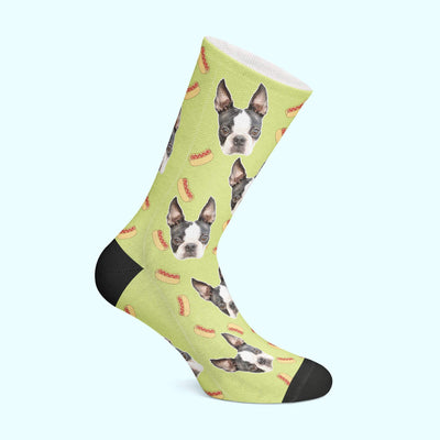 Customizable - Hot Dog Pet Socks