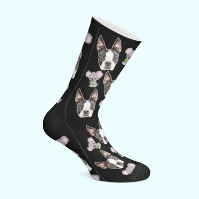Customizable - Koala Pet Socks (4555792646201)