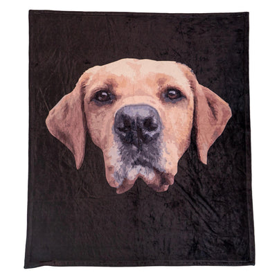 Personalized Pet Print Fleece Blanket - Special Offer 25%