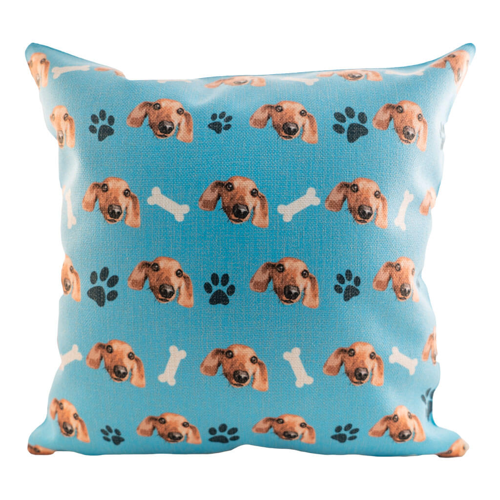 Customized Dog Pillow Cover (2320441933881)