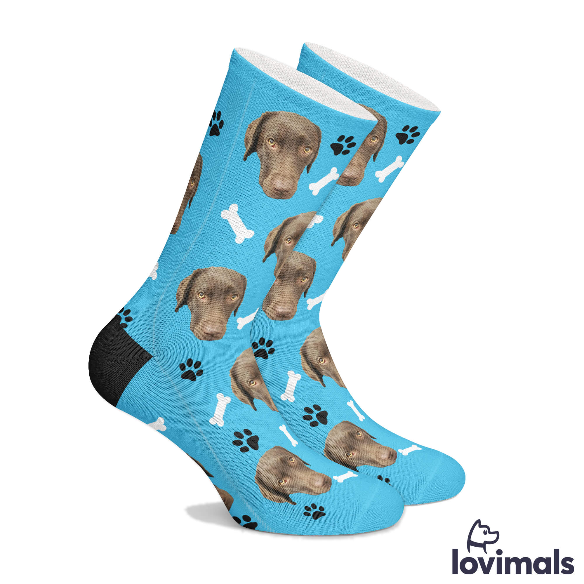 Pet Lovers Socks Food Dog And Cat Photo Socks Custom photo socks Foodie socks BBQ Dog Photo socks Your Dog On A Sock Pizza Grills On