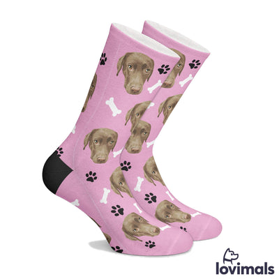 Customizable Hand Drawn Pet Socks