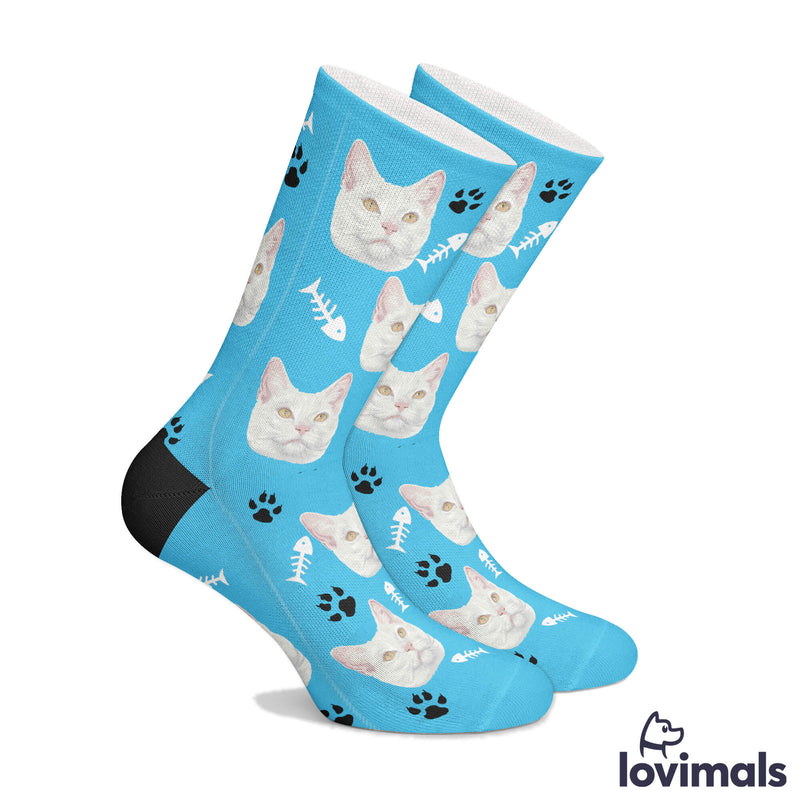 Customizable Hand Drawn Pet Socks (3708231417913)