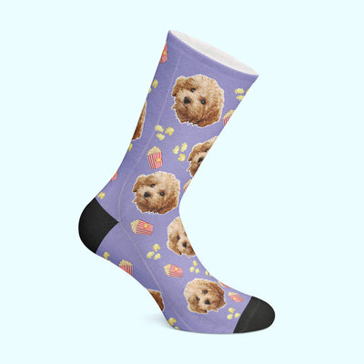 Customizable - Popcorn Pet Socks