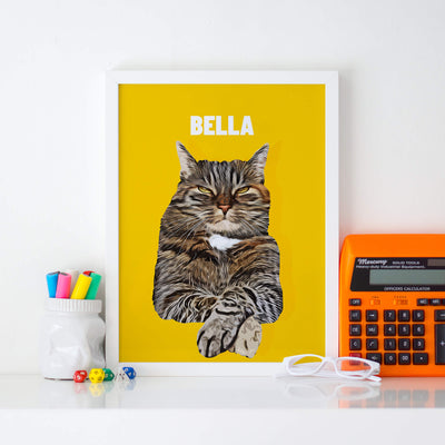 Customizable Pet Print - Portrait (5462284304540)