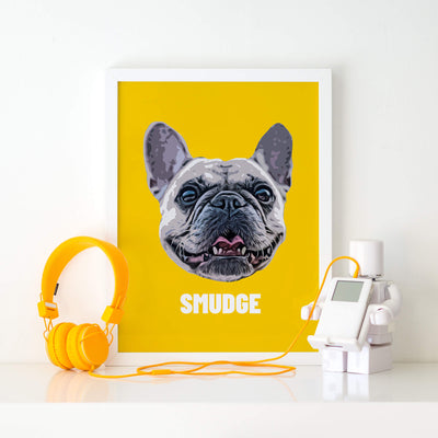 Customizable Pet Print - Pet Face (5462919217308)