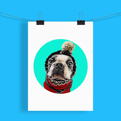 Customizable Pet Print - Circles