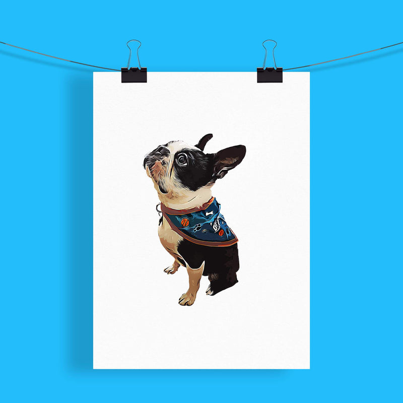 Customizable Pet Print - Plain (4618759929913)