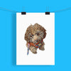 Customizable Pet Print - Plain