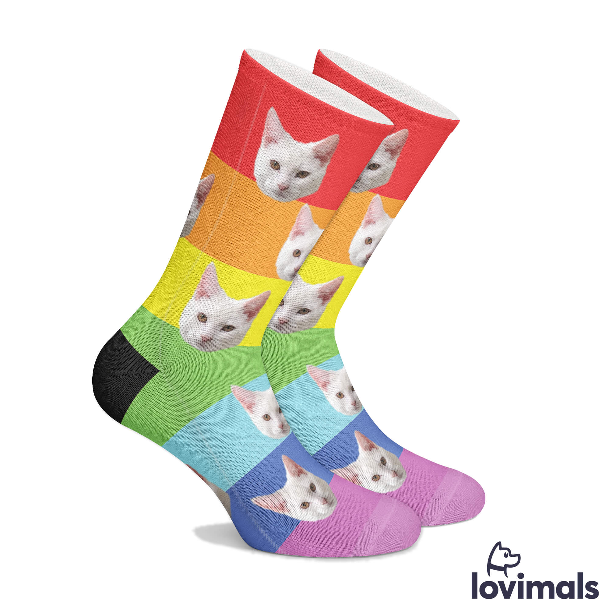 Personalized Pride Socks