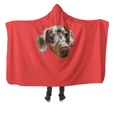 Customizable Hooded Blanket (4379276738617)