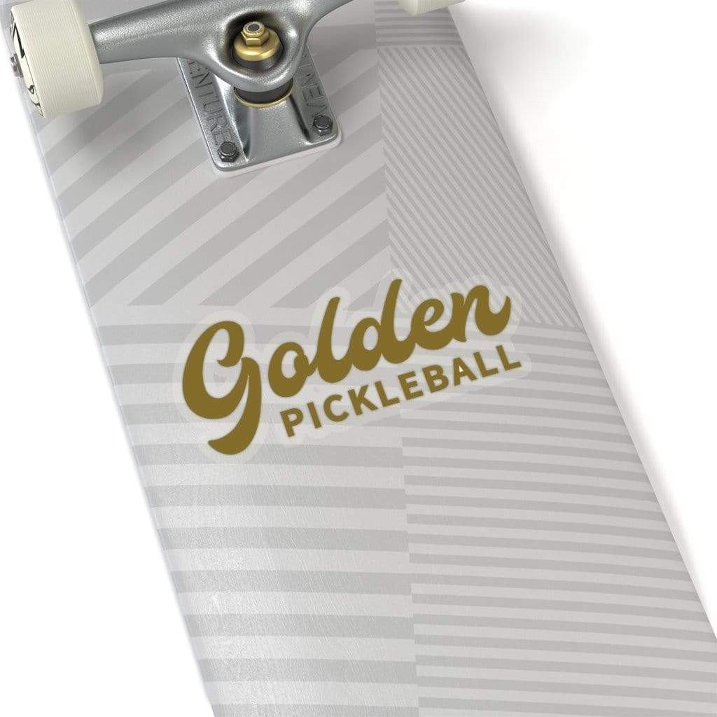 Golden Logo Stickers - Golden Pickleball Paddles