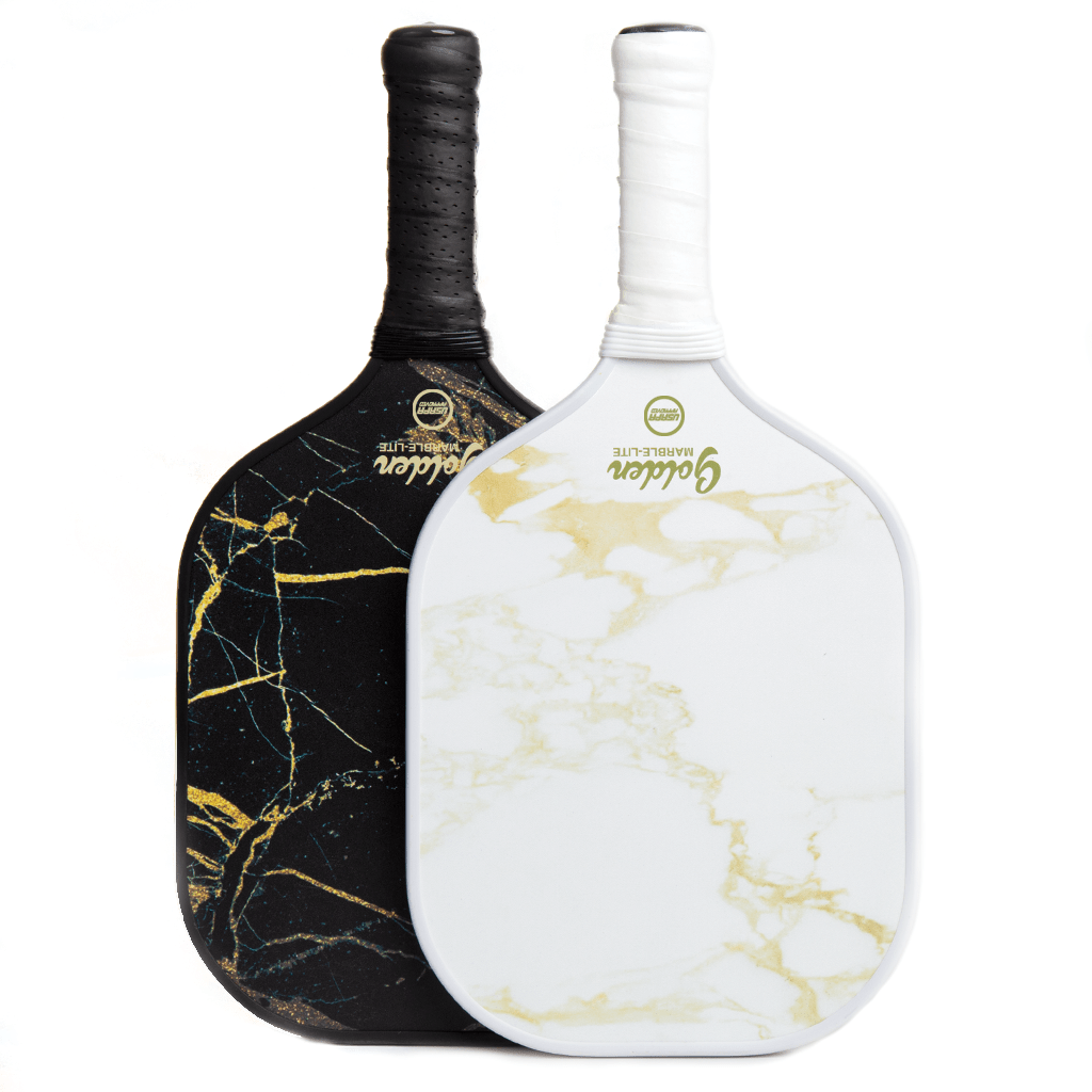 Golden Marble-Lite Pickleball Paddle - Golden Pickleball Paddles