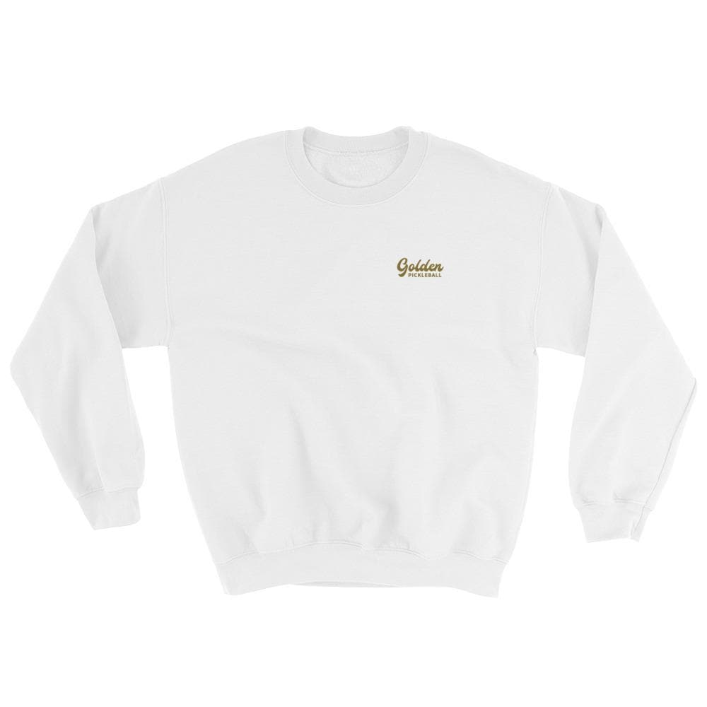 Golden Logo Sweatshirt - Golden Pickleball Paddles