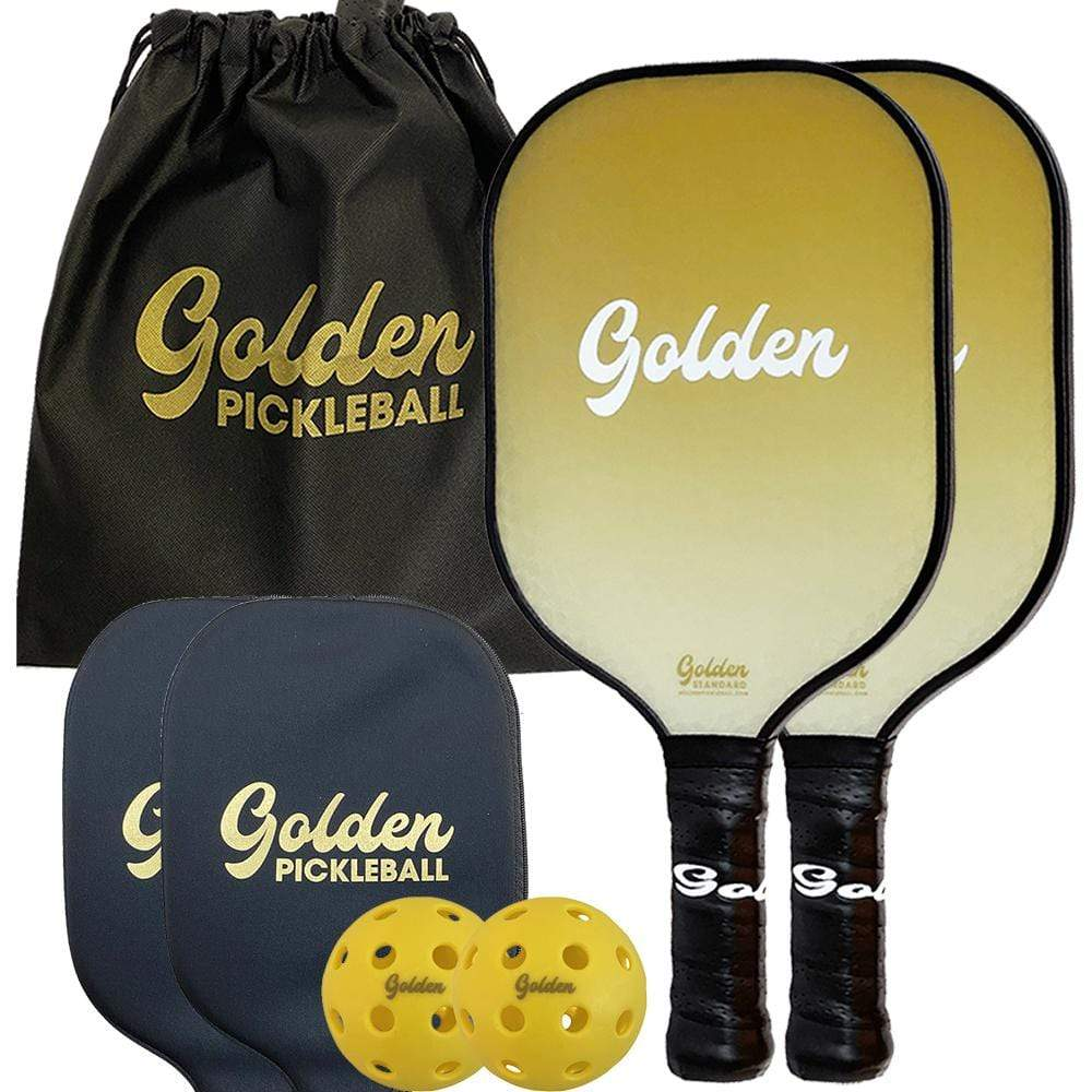 Golden Standard - 2 Paddle Set - Golden Pickleball Paddles