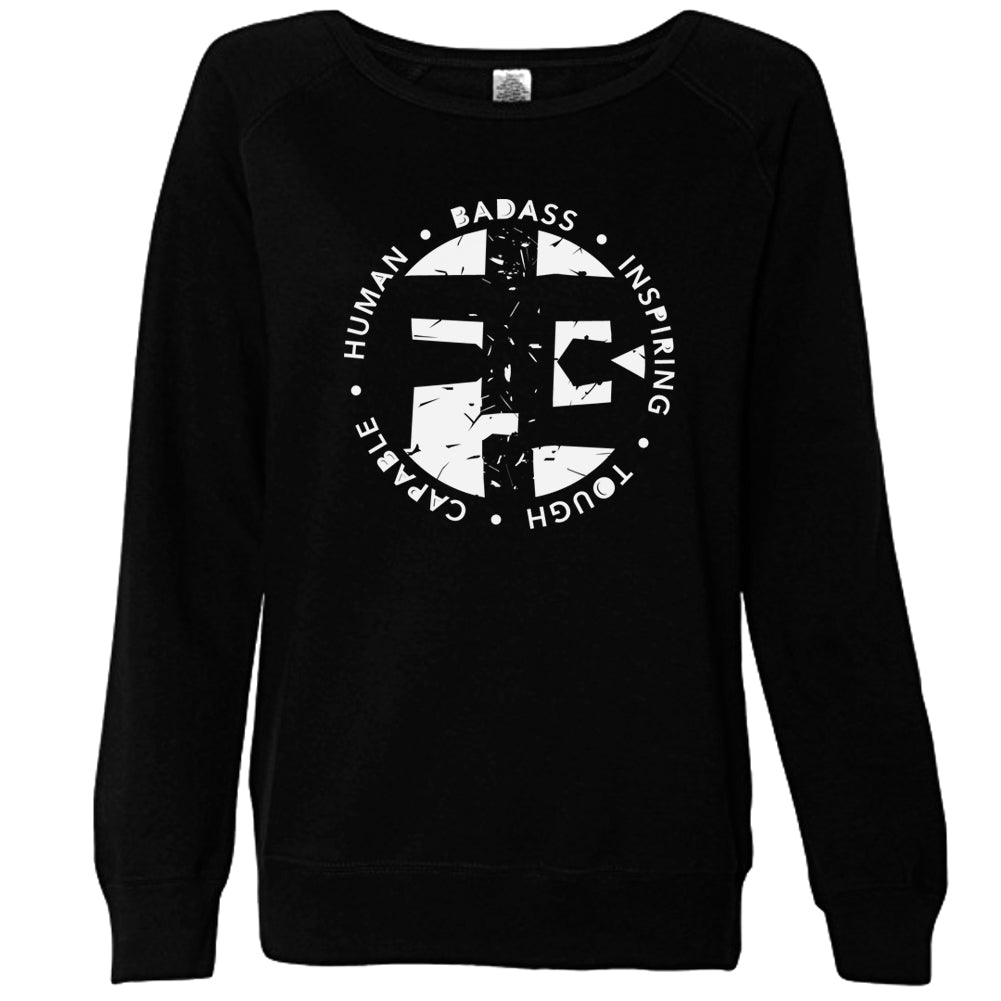 Long Sleeve Lightweight Sweatshirt Acronym Logo