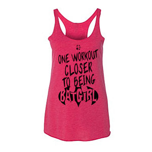 Racerback Unstructured Tri-blend One Workout Closer