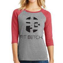 T-Shirt 3/4 Sleeve Baseball Triblend Original Logo