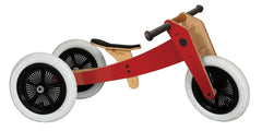 Wishbone 3-in-1 Bike - Red or Green