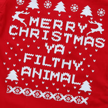Merry Xmas You Filthy Animal Baby Onesie -  Hipster Kids Style. Youth Clothing and apparel Outfitters for hipster kids, toddlers, and babies.