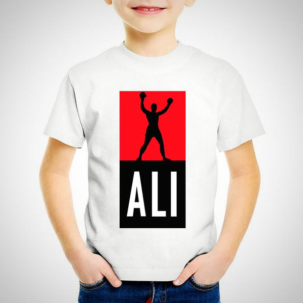 Muhammad Ali Boxing Legend T-shirt -  Hipster Kids Style. Youth Clothing and apparel Outfitters for hipster kids, toddlers, and babies.