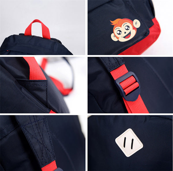 Simple Monkey Backpack -  Hipster Kids Style. Youth Clothing and apparel Outfitters for hipster kids, toddlers, and babies.