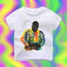 Notorious B.I.G Rap Legend Vintage T-shirt -  Hipster Kids Style. Youth Clothing and apparel Outfitters for hipster kids, toddlers, and babies.