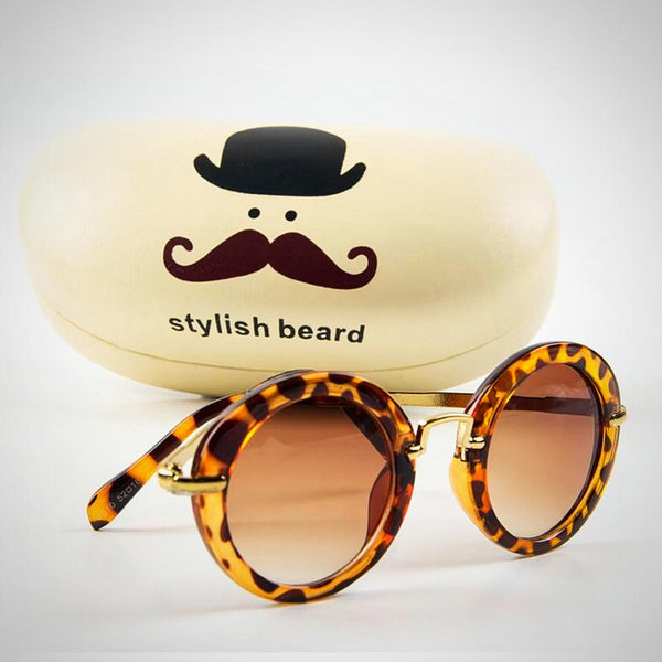 Vintage Round Fashion Sunglasses -  Hipster Kids Style. Youth Clothing and apparel Outfitters for hipster kids, toddlers, and babies.
