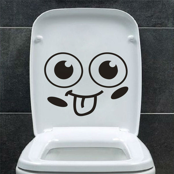 Big Mouth Toilet Stickers -  Hipster Kids Style. Youth Clothing and apparel Outfitters for hipster kids, toddlers, and babies.
