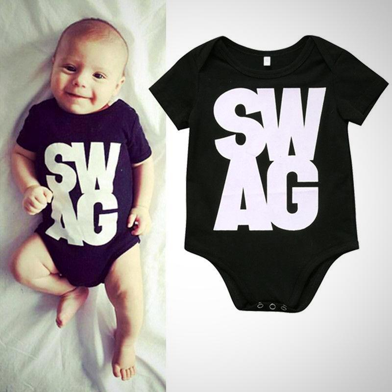 SWAG Baby Onesie -  Hipster Kids Style. Youth Clothing and apparel Outfitters for hipster kids, toddlers, and babies.