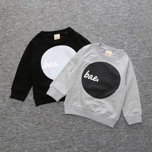 Bae Childrens Sweatshirt -  Hipster Kids Style. Youth Clothing and apparel Outfitters for hipster kids, toddlers, and babies.