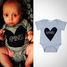 Feminist Baby Onesie -  Hipster Kids Style. Youth Clothing and apparel Outfitters for hipster kids, toddlers, and babies.