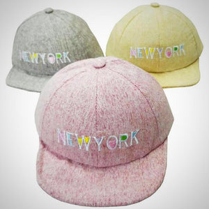 New York Baby Baseball Cap -  Hipster Kids Style. Youth Clothing and apparel Outfitters for hipster kids, toddlers, and babies.