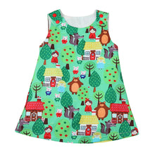 Woodlands Cartoon Dress -  Hipster Kids Style. Youth Clothing and apparel Outfitters for hipster kids, toddlers, and babies.