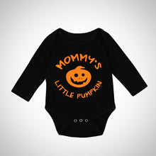 Halloween Mommy's Little Pumpkin Onesie -  Hipster Kids Style. Youth Clothing and apparel Outfitters for hipster kids, toddlers, and babies.