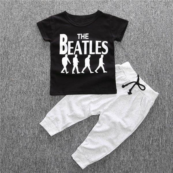 The Beatles 2pc Outfit -  Hipster Kids Style. Youth Clothing and apparel Outfitters for hipster kids, toddlers, and babies.